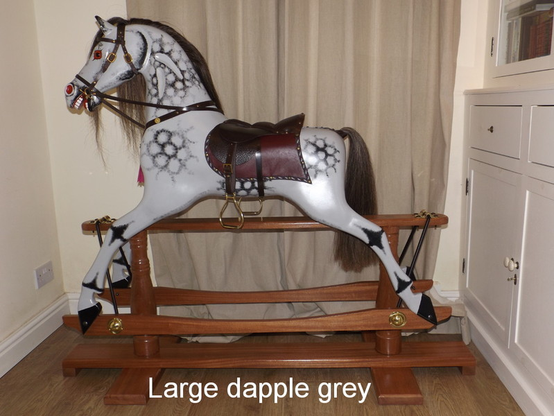 Llyn rocking horses hand made rocking horses for Hand crafted rocking horse